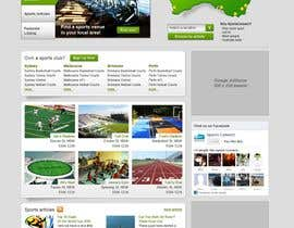 #91 Website Design for Sportsconnect részére mijotichy által