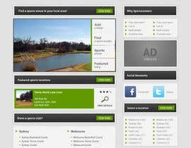 #93 för Website Design for Sportsconnect av dvdbdr