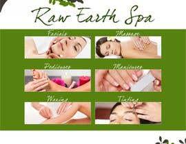 Nro 3 kilpailuun Raw Earth Skin Spa Poster käyttäjältä Asif155