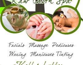 Nro 9 kilpailuun Raw Earth Skin Spa Poster käyttäjältä Asif155