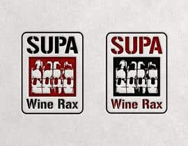Nro 13 kilpailuun Supa Wine Rax Logo käyttäjältä andryod