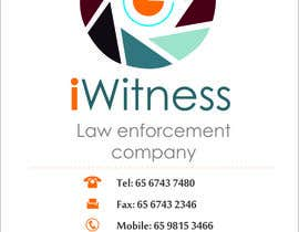 #54 for iWitness business card design by iCreativee