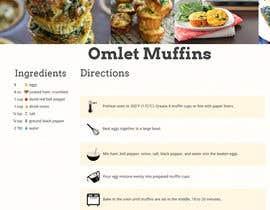 Nro 1 kilpailuun Re-design recipe page käyttäjältä GarvitArya