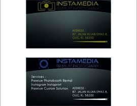 Nro 76 kilpailuun Business Card Design for Creative Event company käyttäjältä TATHAE