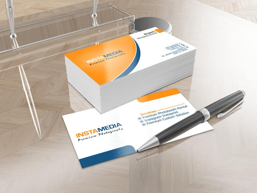 #58 for Business Card Design for Creative Event company by nuhanenterprisei