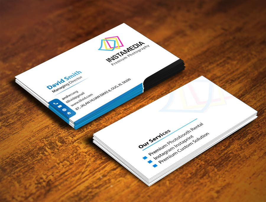 #69 for Business Card Design for Creative Event company by mamun313