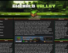 #3 untuk Design a basic HTML website template for my Minecraft Server oleh piratepixel