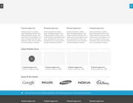 cssmaniaa tarafından Design Company logo and a mockup home page for the website. için no 9