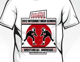 #5 for T-shirt Design for InterMatWrestle.com af mykferrer