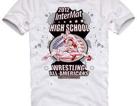 #44 for T-shirt Design for InterMatWrestle.com af mykferrer