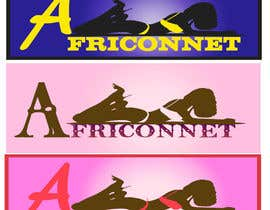 nº 10 pour Design a Logo for Africonnet par machine4arts