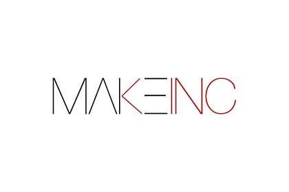 #80 for Design a Logo for Makeinc by vladspataroiu