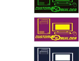#5 untuk Design a Logo for custom pc builder app oleh abukawsar501