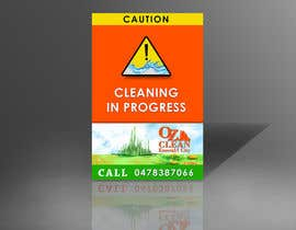 Khanggraphic tarafından Signage design required for cleaning business için no 45