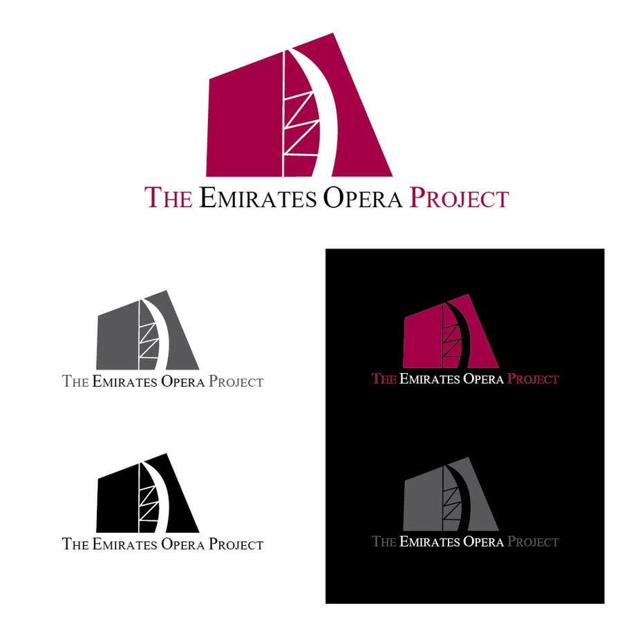 Kilpailutyö #19 kilpailussa Design a Logo for The Emirates Opera Project