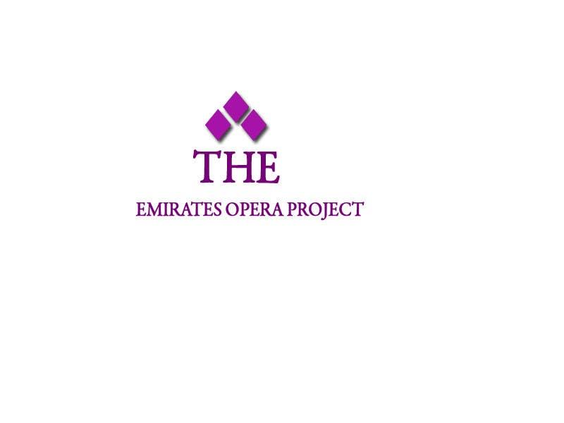 Kilpailutyö #52 kilpailussa Design a Logo for The Emirates Opera Project