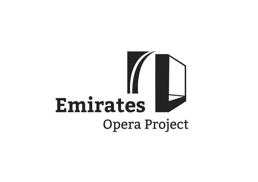 Kilpailutyö #63 kilpailussa Design a Logo for The Emirates Opera Project