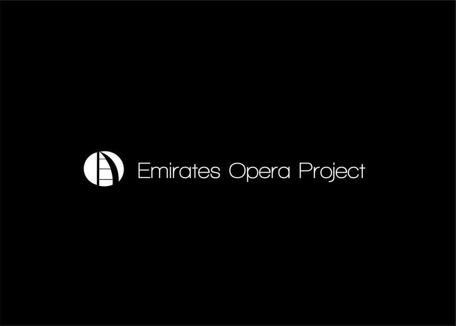 Kilpailutyö #14 kilpailussa Design a Logo for The Emirates Opera Project