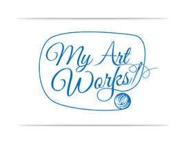 georgeecstazy tarafından Design a Logo for online shop with handmade embroidery art works için no 35