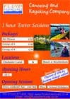 Contest Entry #23 for Design a Flyer for Kayaking Company