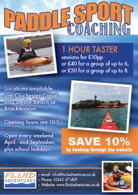#8 for Design a Flyer for Kayaking Company by LuckyDogDesign