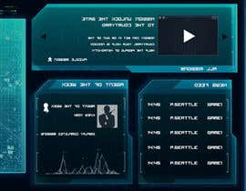 "liquidshack tarafından Design a mockup of web-based game with a ""secret agent"" theme için no 55"