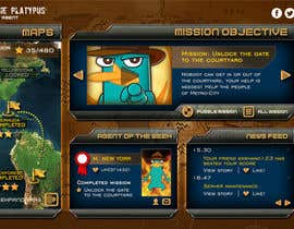 "#27 untuk Design a mockup of web-based game with a ""secret agent"" theme oleh enshano"