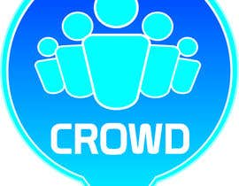 nº 6 pour Design a Logo for a new App called Crowd par babootel24