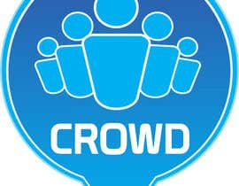 nº 7 pour Design a Logo for a new App called Crowd par babootel24