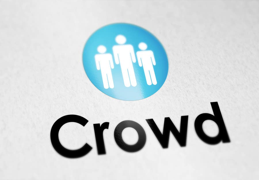 Kilpailutyö #26 kilpailussa Design a Logo for a new App called Crowd