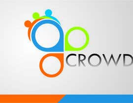 nº 13 pour Design a Logo for a new App called Crowd par simpleblast