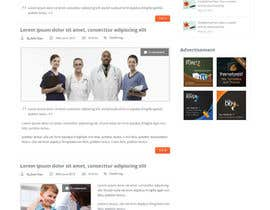 #1 para Design a Website Mockup for Medical E Joint por fo2shawy001