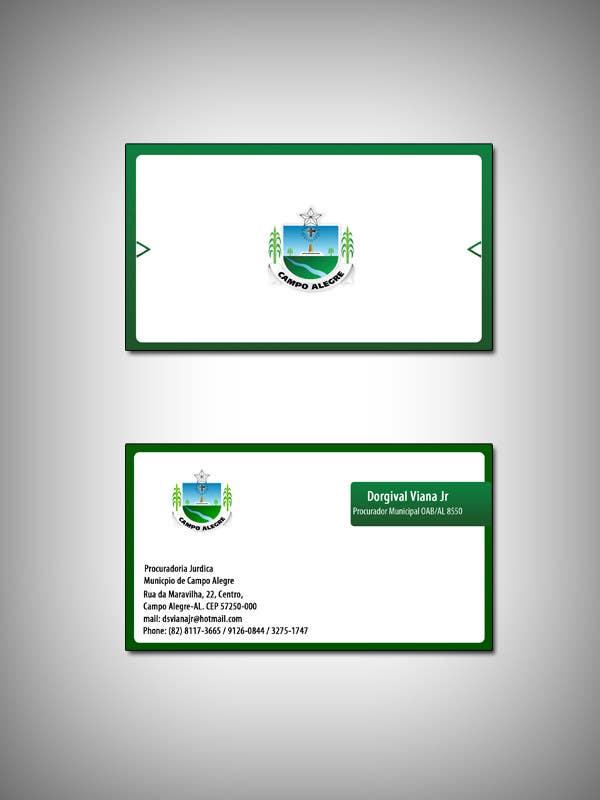 Конкурсная заявка №12 для Business card for city lawyer