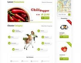 PandaLabo tarafından Design a online Grocery store homepage için no 2