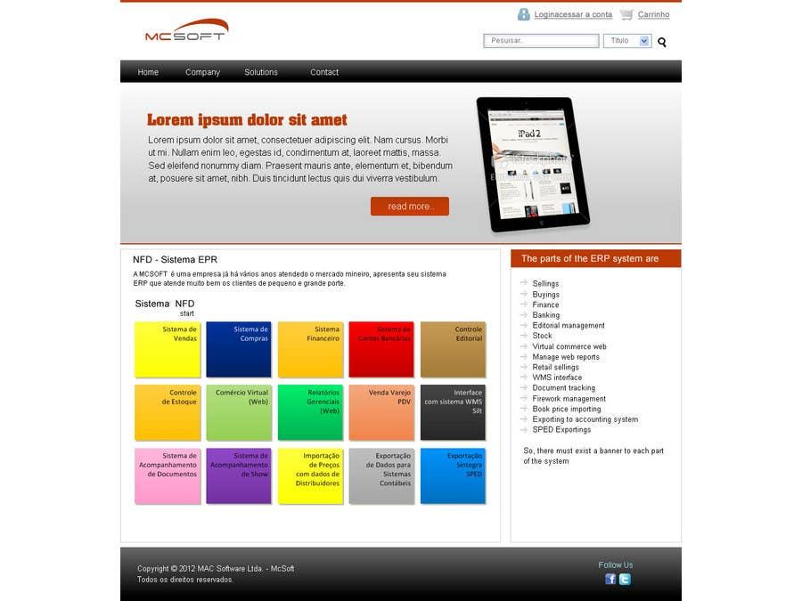 Contest Entry #                                        3                                      for                                         Website Design for Mac Software Ltda