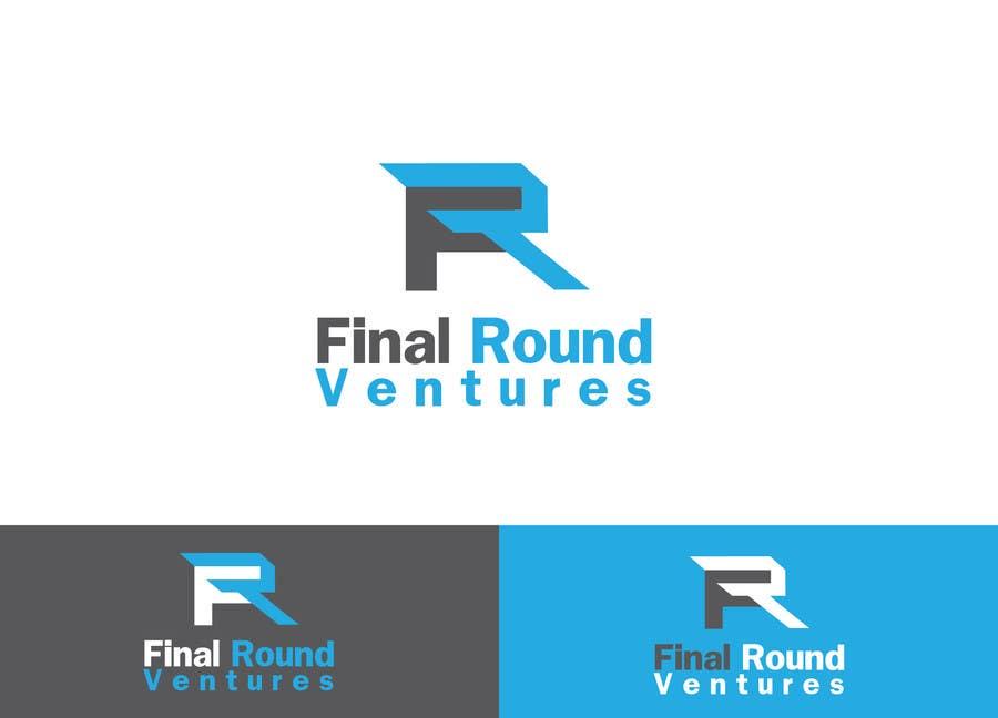 Penyertaan Peraduan #128 untuk Final Round Ventures Logo Design