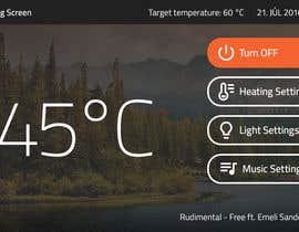 kubocentik tarafından Design - Control Panel for Sauna için no 3