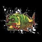 Graphic Design Kilpailutyö #37 kilpailuun T-shirt design for Trevally Fish
