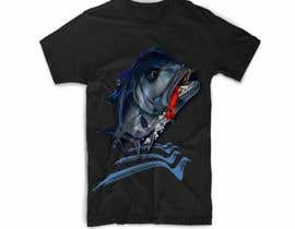 #20 untuk T-shirt design for Trevally Fish oleh mgpcreationz