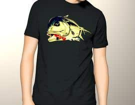 nº 15 pour T-shirt design for Trevally Fish par poonkaz