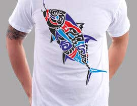#12 untuk T-shirt design for Trevally Fish oleh adstyling