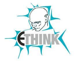 alek2011 tarafından Σχεδιάστε ένα Λογότυπο for e-think için no 3