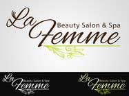 Graphic Design Entri Peraduan #119 for Logo Design for La FEmme Beauty Salon & Spa