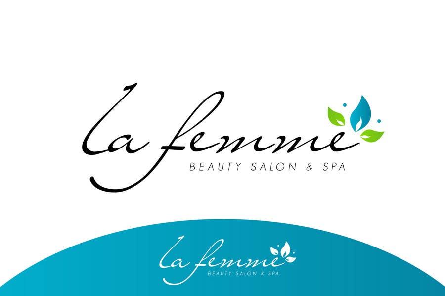 Proposition n°4 du concours Logo Design for La FEmme Beauty Salon & Spa