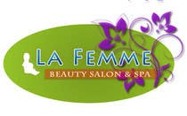 Graphic Design Entri Peraduan #124 for Logo Design for La FEmme Beauty Salon & Spa