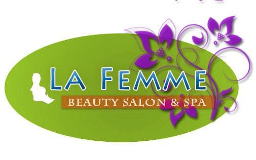 Penyertaan Peraduan #                                        124                                      untuk                                         Logo Design for La FEmme Beauty Salon & Spa