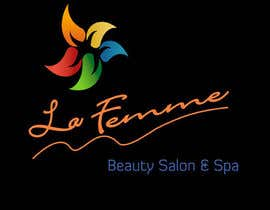 #115 para Logo Design for La FEmme Beauty Salon & Spa por srams2008