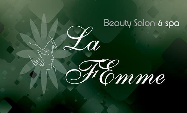 Proposition n°103 du concours Logo Design for La FEmme Beauty Salon & Spa