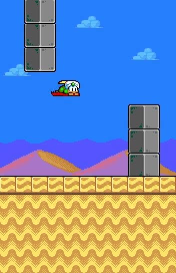Kilpailutyö #1 kilpailussa Design for Flappy bird like game.