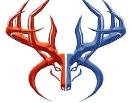 Nro 30 kilpailuun Whitetail Buck Emblem Design käyttäjältä estela51